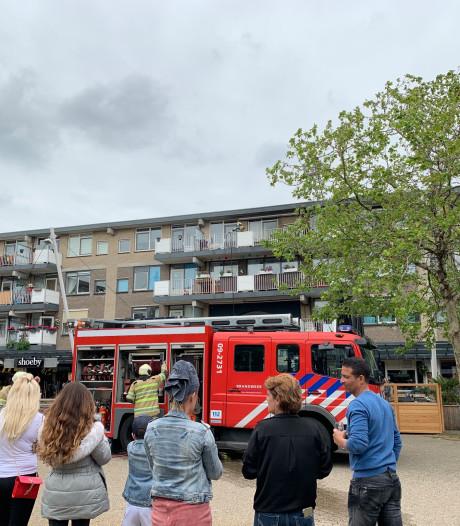 Brand op balkon van woning in Nieuwegein