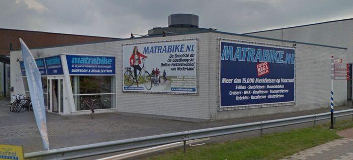 De Matrabikewinkel aan de Professor Asserweg in Waalwijk blijft gewoon open.