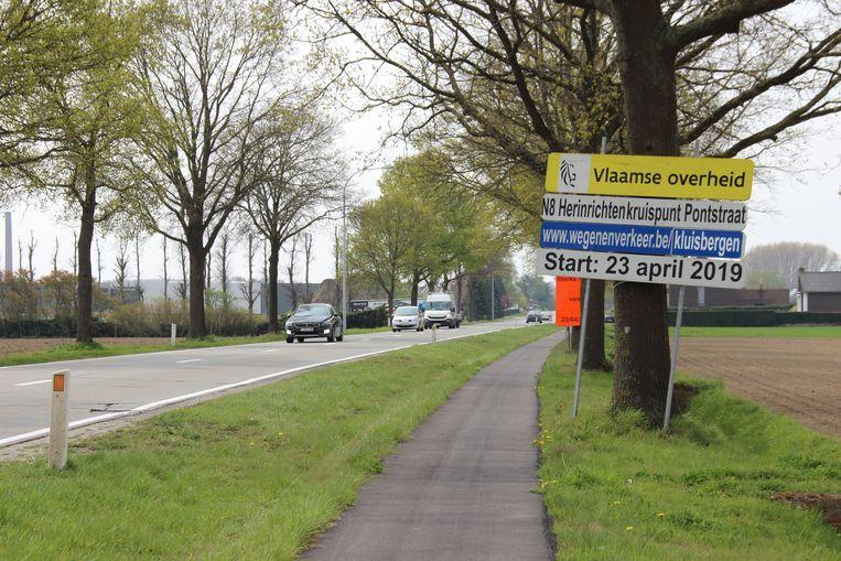 De werken aan de Berchemstraat, Pontstraat en Oudenaardebaan gaan op dinsdag 23 april van start.