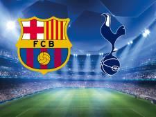 Speelt al geplaatst Barça voluit tegen Spurs?