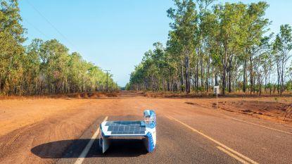 """DAG 3 voor het Agoria Solar Team in Australië: """"Zandstormen en zelfs een whirlwind!"""""""