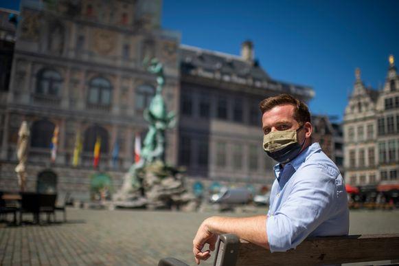 Erwin Liekens van Taste The City hoopt dat toeristen van binnen en buiten het Antwerpse de weg naar het centrum snel terug vinden.