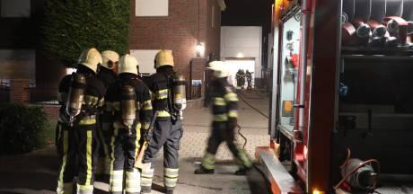 Drugslab gevonden na flinke brand in loods Berghem