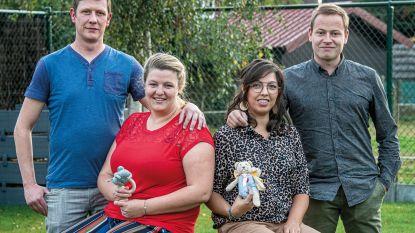 Verlies van hun kindje brengt West-Vlaamse koppels bij elkaar, nu maken ze van babyborrel grote benefiet