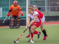 Hockeyderby eindigt onbeslist, Olympia staat derde