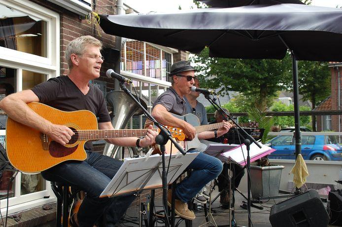 Een eerder optreden bij De Kemphaan in Middelbeers.