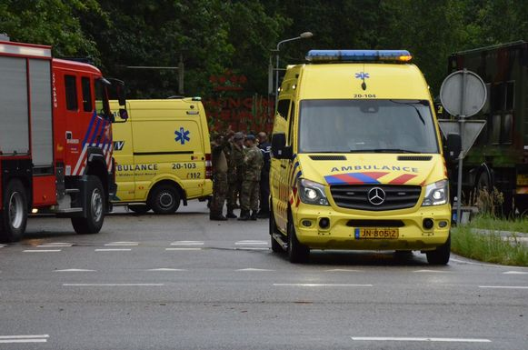Incident militaire basis Ossendrecht