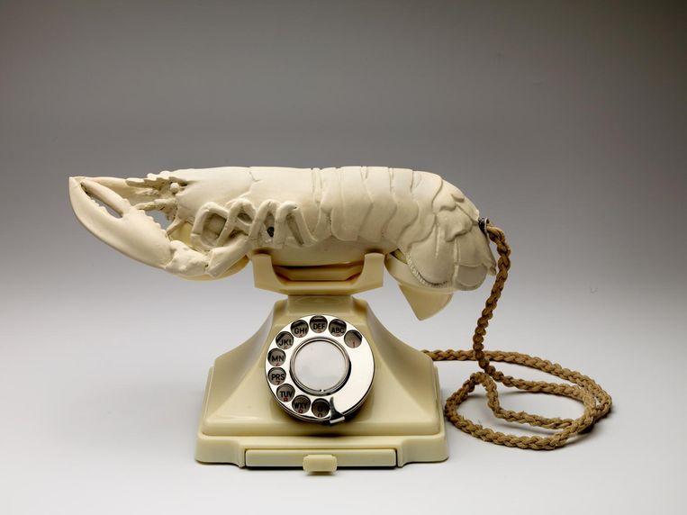 Salvador Dalí, Witte lustopwekkende telefoon (1936) Beeld null