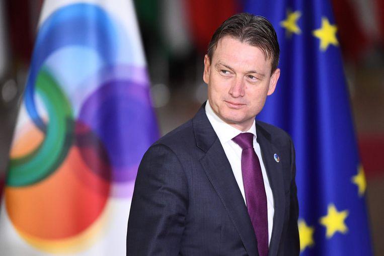 Nederlands minister van Buitenlandse Zaken, Halbe Zijlstra. De Russische ambassade haalt in een verklaring fel uit naar onze noorderburen nadat bekend raakte dat hij loog over een ontmoeting met Poetin.