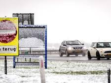 West-Brabant kleurt wit: ANWB raadt aan thuis te blijven