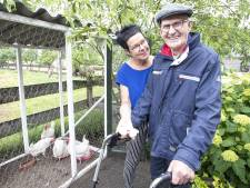 De kippen konden gewoon mee naar woonzorglocatie in Den Ham