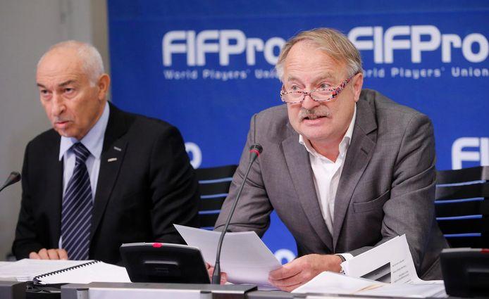 FIFPro-voorzitter Theo van Seggelen
