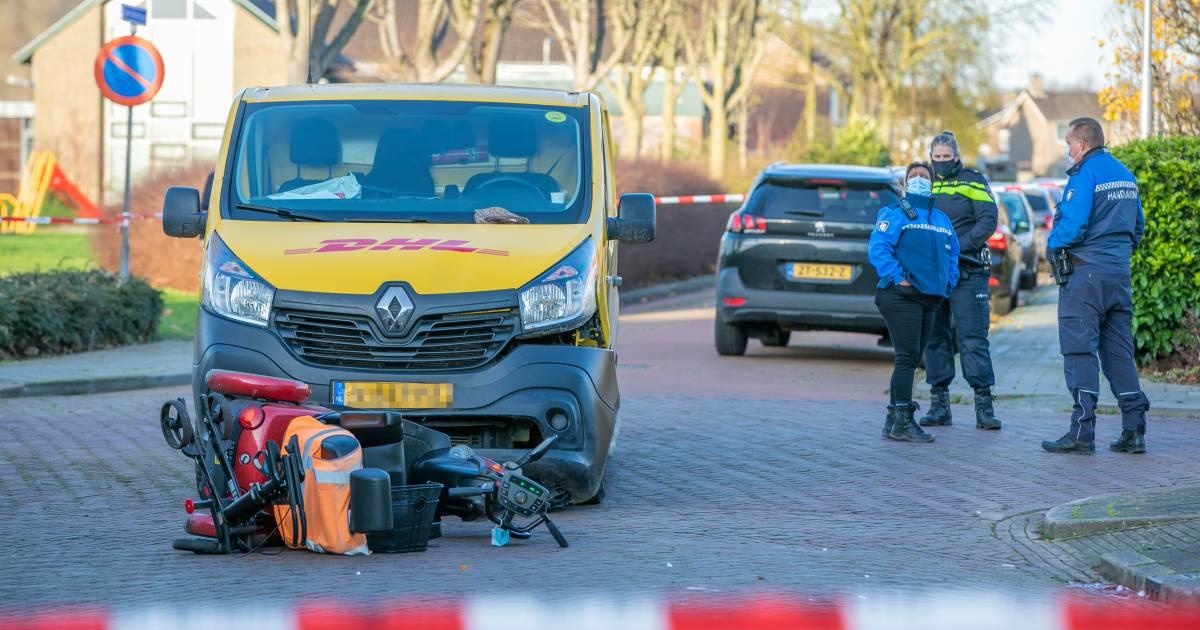 Slachtoffer aanrijding met pakketbezorger in Elst overleden.