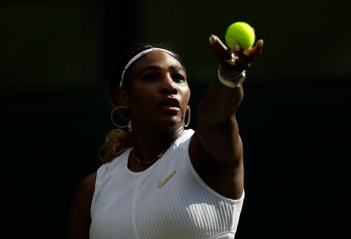 Serena Williams, une partenaire de choix pour Andy Murray, en double mixte, à Wimbledon.