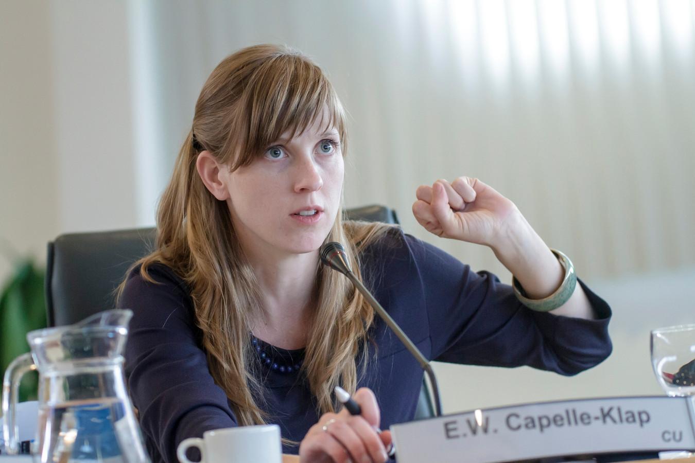 Erika Capelle-Klap van de ChristenUnie.