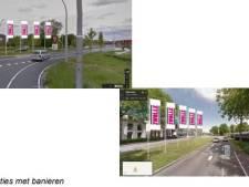Banieren moeten bezoekers naar  binnenstad van Zwolle trekken