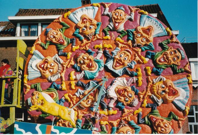 Een detail van een van Schrooyens ontwerpen uit 1999.