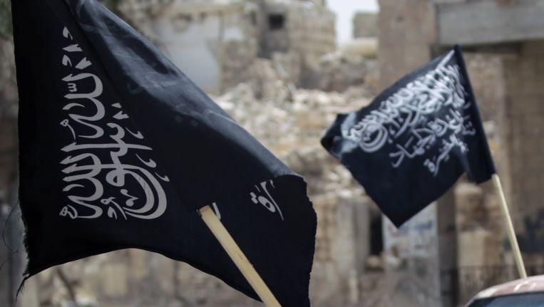 Vlaggen van al-Nusra.