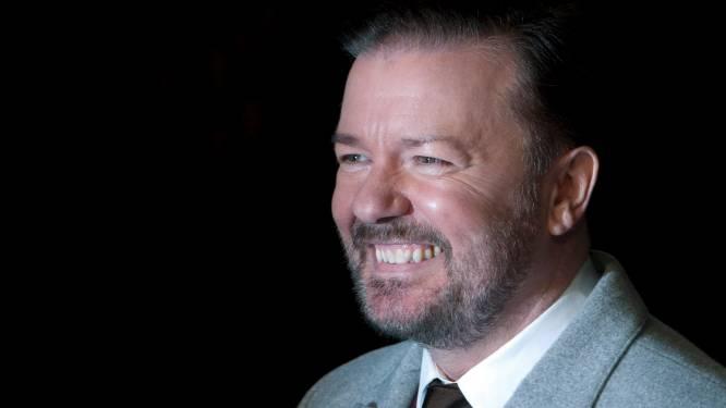 """Ricky Gervais wees aanbod af om eerste comedian in de ruimte te worden: """"Een geschift idee"""""""
