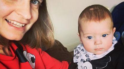 Van hemel naar hel in week tijd: kanker treft Joyce meteen na geboorte Ilias