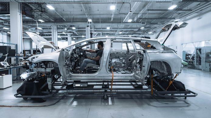 Faraday Future werkt aan een productieauto die het Tesla moeilijk zou gaan maken. Het bedrijf wil uitvindingen van Philips aan de elektrische auto's toevoegen.