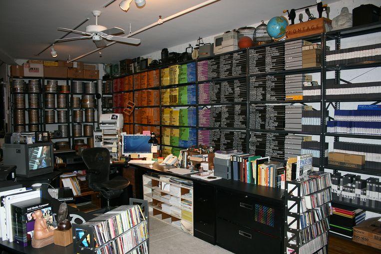 Het knipsel-archief van Alan Berliner in 2010 Beeld Alan Berliner