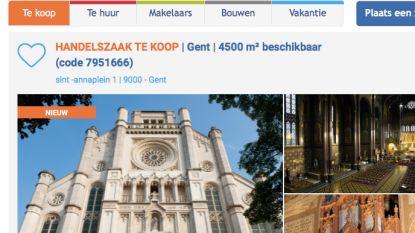 """Sint-Annakerk nu ook op vastgoedsite: """"Geschat op 1,2 miljoen euro, maar voor 500.000 euro al van u"""""""