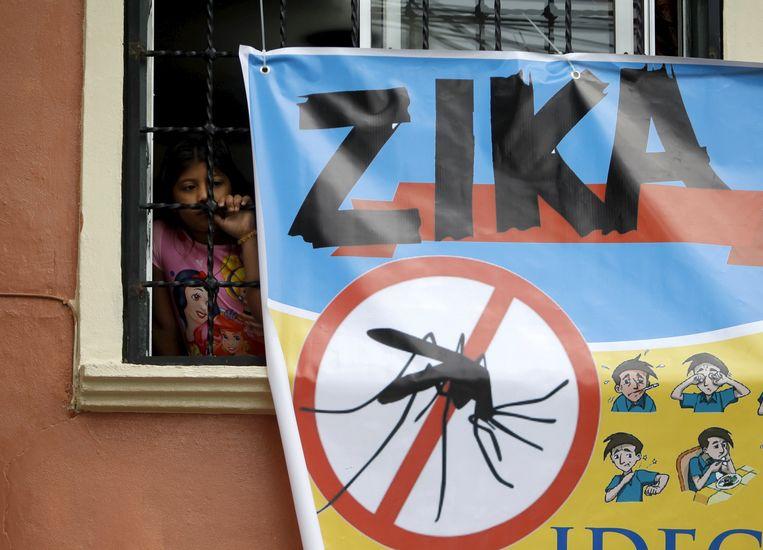 In Honduras wordt gewaarschuwd voor de Zika-mug. Beeld REUTERS