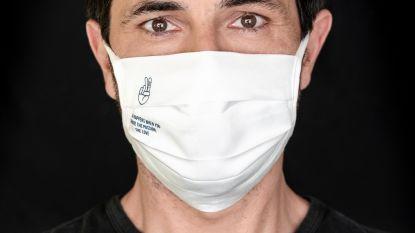 Dieter Coppens wordt het gezicht van de Share The Passion-mondmaskers