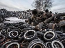 Hoe lang blijft de zee van rubber in Almen na patstelling tussen Doornberg-Recycling en het college van Lochem?