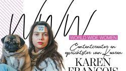 """Karen François: """"Ik ben er trots op dat ik van Tinder gegooid ben"""""""