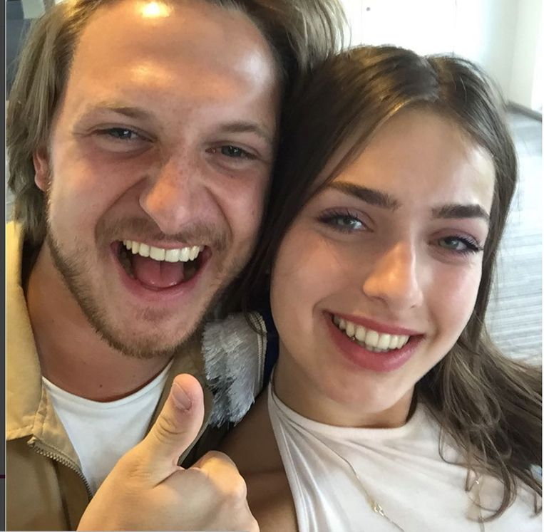Simon Nuytten en Olga Leyers