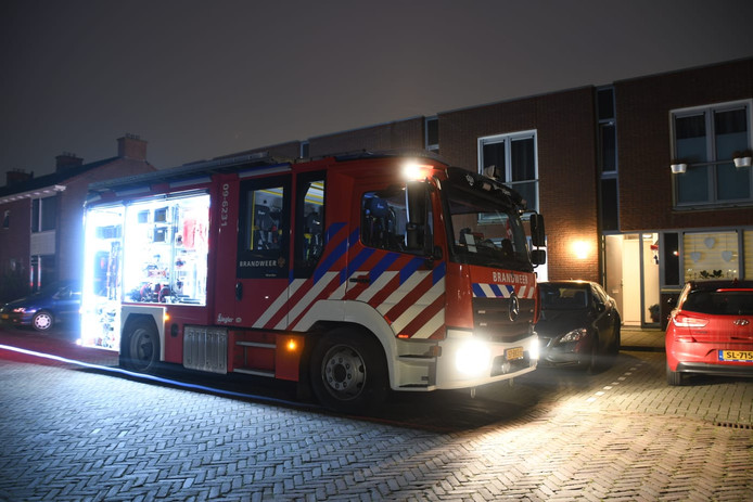 De brandweer was actief voor het kindje in Woerden