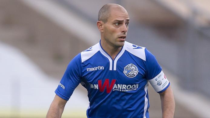 Anthony Lurling in actie in zijn laatste periode als speler bij FC Den Bosch.