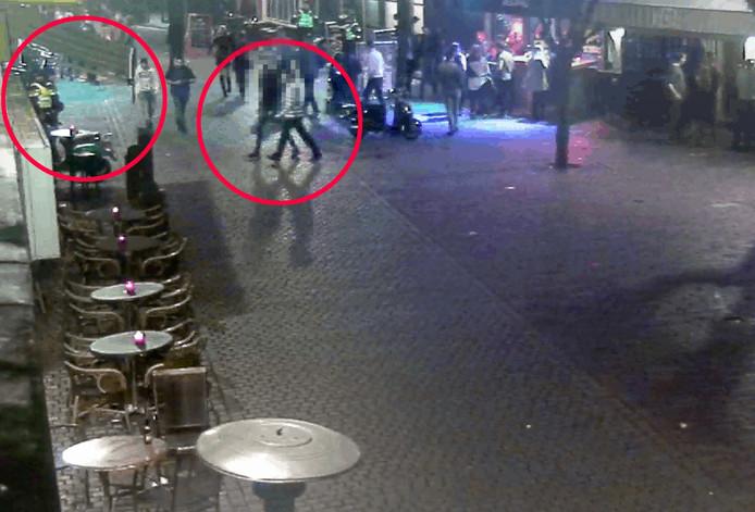 Still uit video politie