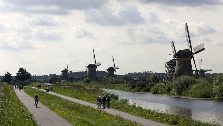 De molens van Kinderdijk. © ANP Beeld