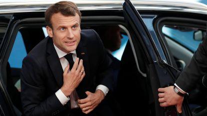 """Macron: """"Lang uitstel van de brexit staat nog niet vast"""""""