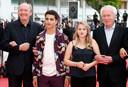 Jean-Pierre Dardenne, Luc Dardenne, Victoria Bluck et Idir Ben Addi