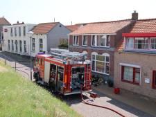 Binnenbrand in café Colijnsplaat