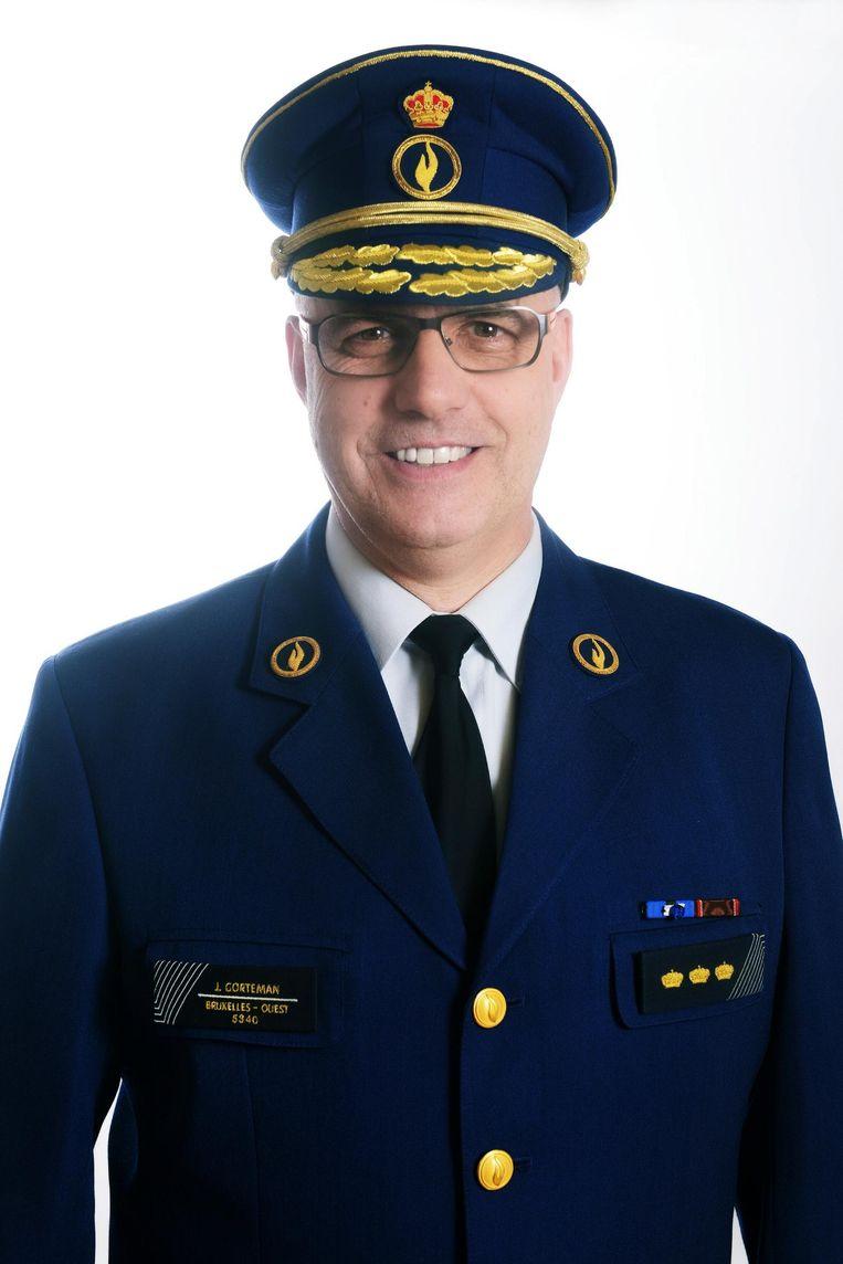Jacques Gorteman is de nieuwe interim-korpschef van de zone Brussel-West.
