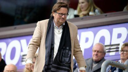 """Voorzitter Coucke nodigt Anderlecht-fans uit voor gesprek: """"Mijn parcours als voorzitter begint hobbeliger dan voorzien"""""""