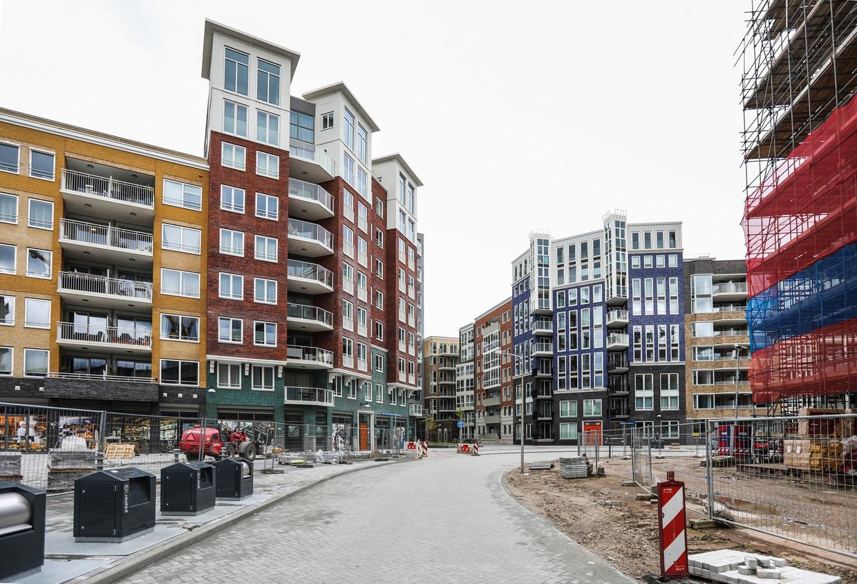 Met de wijk Holland Park zet Diemen in op uitbundige stedelijke allure. Beeld Eva Plevier
