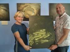 Expositie duikfoto's in 'Oorlogsaquarium' Westkapelle