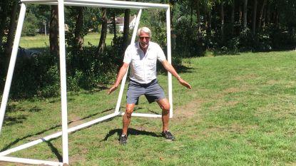 Speelpleintje 'Moemoe Kiekeboe' heeft eindelijk twee gloednieuwe voetbaldoeltjes