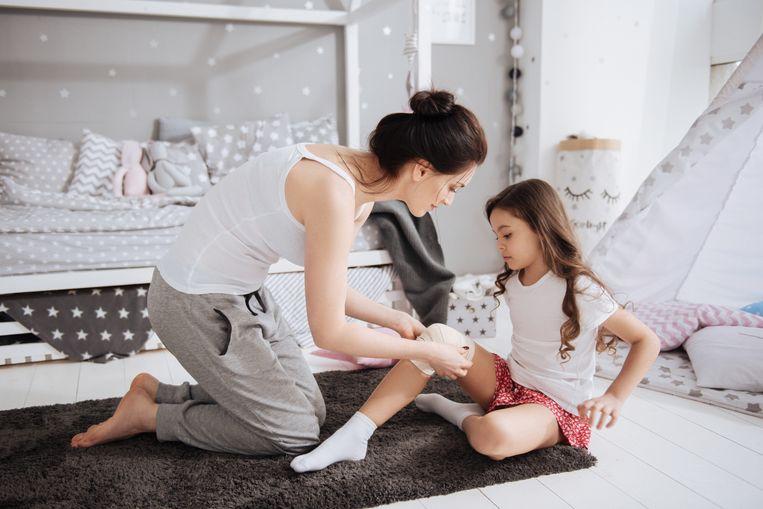 blauwe plekken op benen tijdens zwangerschapsdiabetes