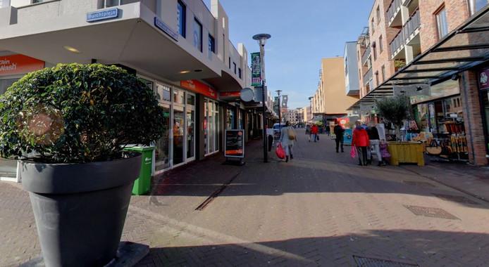 Het centrum van Etten-Leur met winkels