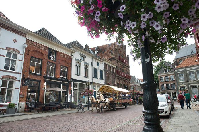 De Koepoortstraat in Doesburg.
