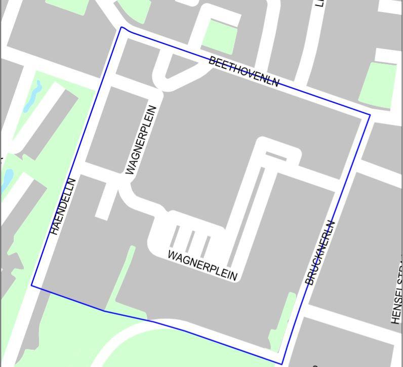 Flyerverbod op het Wagnerplein