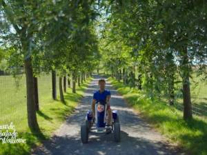 """Karting et promenade artistique au menu de """"La Grande Balade"""""""