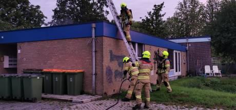 Brandweer rukt uit voor brand in wooncomplex Wageningen